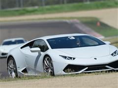 The Lamborghini Huracán LP 610-4 takes to the track with Lamborghini Accademia 2014