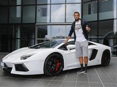 Newly-Crowned NBA Champion Marco Belinelli Visits Automobili Lamborghini Headquarters