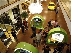 Lo store Collezione Automobili Lamborghini in Galleria Cavour a Bologna ha ospitato il debutto italiano di Forza Horizon 2, il gioco racing di Micorsoft più social di sempre