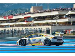 Patrick Kujala is once more the protagonist. The Bonaldi Motorsport driver wins Race One in Paul Ricard Lamborghini Blancpain Super Trofeo