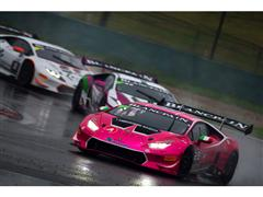 Chinese Typhoon Couldn't Stop Lamborghini Huracán Race Cars at Shanghai International Circuit