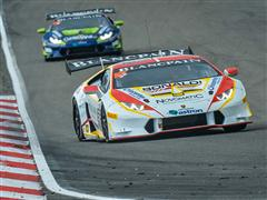 Patrick Kujala (Bonaldi Motorsport) wins for the seventh time in Nürburgring and stakes a claim on the Lamborghini Blancpain Super Trofeo Europe