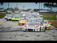 The Lamborghini Blancpain Super Trofeo World Final Drives into Action: Kujala (PRO), Lewis (PRO-AM), Ryan Ockey (AM) and Hurley (Gallardo) Share Wins in Race 1