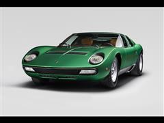 Lamborghini PoloStorico celebrates Miura 50 anniversary at Amelia Island with restored Miura SV 1971 Geneva show car