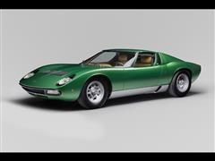 Lamborghini Polo Storico celebrates Miura 50 anniversary at Amelia Island with restored Miura SV 1971 Geneva show car