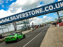 The Lamborghini Blancpain  Super Trofeo  Europe at Silverstone for the Second Round of the Season