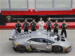 First Training Session for the Young Drivers of Lamborghini Squadra Corse