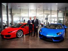 Automobili Lamborghini e Aeroporto di Bologna:  rinnovo della collaborazione con un nuovo corner espositivo Lamborghini