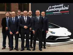 Automobili Lamborghini and the Massachusetts Institute of Technology join forces to write the future of super sports cars