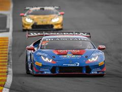 Victory For Postiglione in  Race 1 of the Lamborghini World Final in Valencia