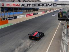 Breukers and Jefferies won again in the Lamborghini Super Trofeo Middle East