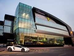 Lamborghini opens in Dubai its worldwide largest Showroom