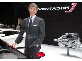 Lamborghini - Stephan Winkelmann, President and CEO of Lamborghini at 2012 Geneva Motorshow