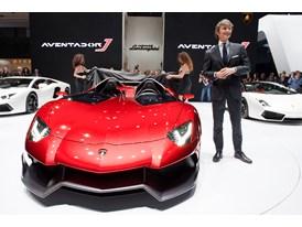 Lamborghini Aventador J at 2012 Geneva Motorshow