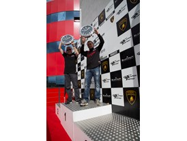 Cedric Leimer is the 2012 Lamborghini Blancpain Super Trofeo PRO-AM champion