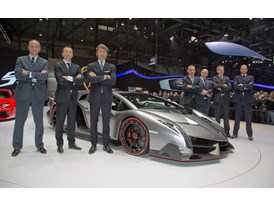 Lamborghini Press Conference at Geneva Motor Show