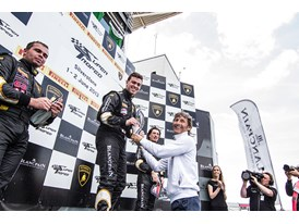 LBSTF Silverstone race two podium
