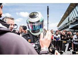 Andrea Amici claims the Sunday race win at Silverstone
