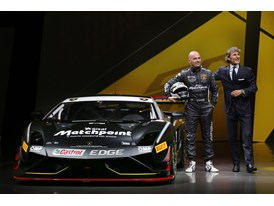 New Lamborghini Gallardo LP 570-4 Squadra Corse - S. Winkelmann and G.Sanna at Worldwide Premiere