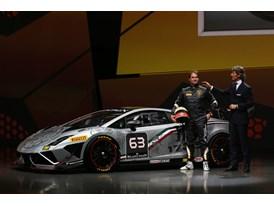 New Lamborghini Gallardo LP 570-4 Squadra Corse - S. Winkelmann and F.Babini at Worldwide Premiere