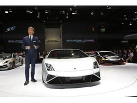 Lamborghini Press Conference at 2013 Frankfurt Motor Show 1
