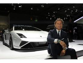 Lamborghini Press Conference at 2013 Frankfurt Motor Show 6