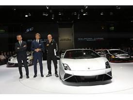 Lamborghini Press Conference at 2013 Frankfurt Motor Show 7