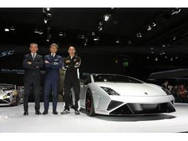 Lamborghini Press Conference at 2013 Frankfurt Motor Show 9