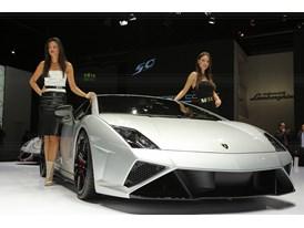 Lamborghini Press Conference at 2013 Frankfurt Motor Show 11