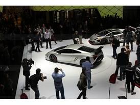 Lamborghini Press Conference at 2013 Frankfurt Motor Show 12
