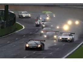 #63 car leads the field in race 2