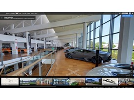 Automobili Lamborghini Launches Exclusive Museum Indoor View on Google Maps
