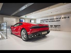 New Lamborghini Huracán LP 610-4 at 2014 Geneva Motor Show
