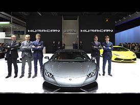Lamborghini Press Conference at the Auto China 2014 in Beijing