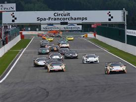 Super Trofeo SPA Day 1 Start