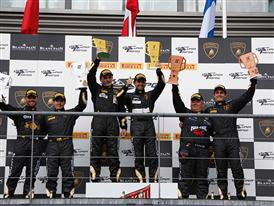 Super Trofeo SPA Day 1 PRO-AM Podium