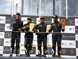 Super Trofeo SPA Day 1 PRO Podium