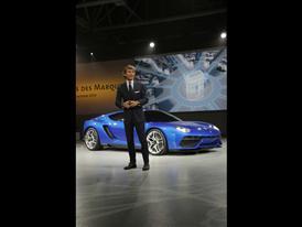 Stephan Winkelmann, President and CEO of Automobili Lamborghini and New Lamborghini Asterion LPI 910-4