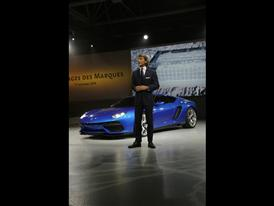 Stephan Winkelmann, President and CEO of Automobili Lamborghini and New Lamborghini Asterion LPI 910-4