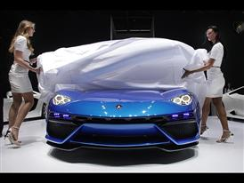 New Lamborghini Asterion LPI 910-4 at the 2014 Paris Mondial de L'Automobile 29