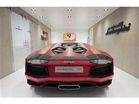 Lamborghini Aventador LP 700-4 Roadster AD Personam at 2015 Geneva Motor Show