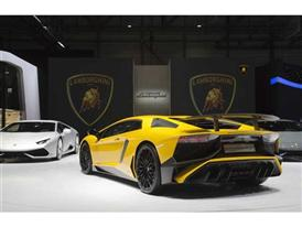New Lamborghini Aventador LP 750-4 Superveloce at the 2015 Geneva Motor Show