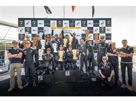 Podium Winners Race 2