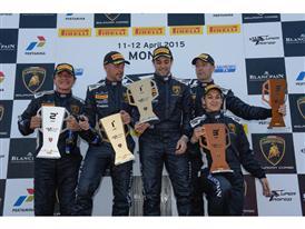 Podium AMG Race 2