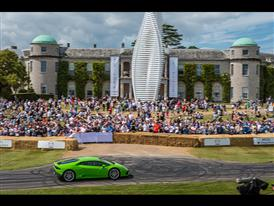 Lamborghini Huracán LP 610-4 at Goodwood Festival of Speed 2015