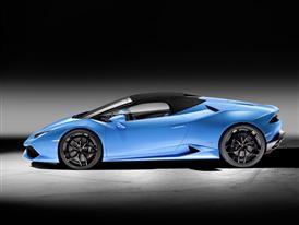 New Lamborghini Huracán LP 610-4 Spyder Closed