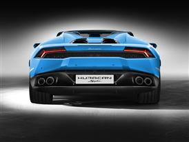 New Lamborghini Huracán LP 610-4 Spyder Back