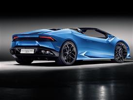 New Lamborghini Huracán LP 610-4 Spyder 3/4 Rear