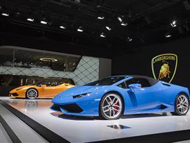 New Lamborghini Huracán LP 610-4 Spyder at the 2015 Frankfurt Motor Show