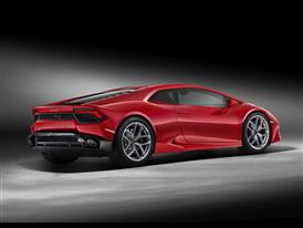 Huracán LP580-2 3-4 Back Red-HD